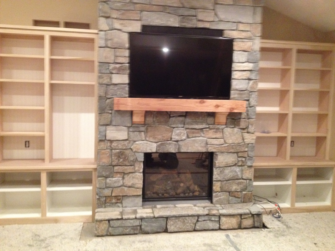 fireplace and chimney. Stone work by Custom Fireplace and Chimney Care  Testimonials Fireplaces